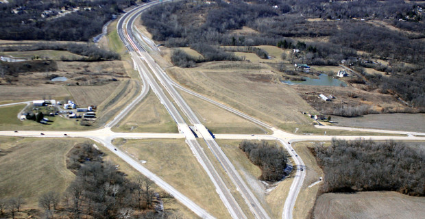Illinois 255 and US 67 Work Nearing Completion